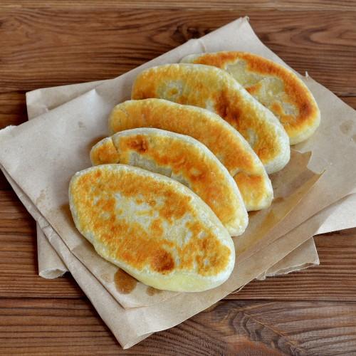 Как у бабушки: жареные пирожки с ливером