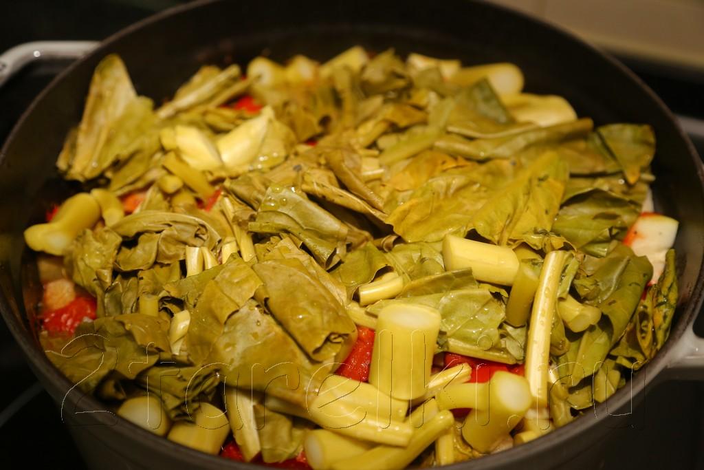 Тефтели с овощами